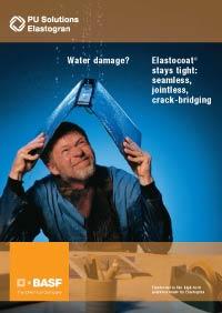 Elastocoat watertight