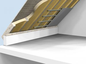 Elastospray Pitched Roof Insulation