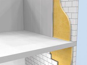 Elastospray Internal Wall Insulation