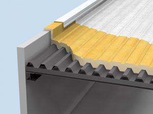 Elastospray External Roof Insulatio