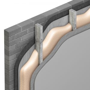 Enertite Timber frame wall
