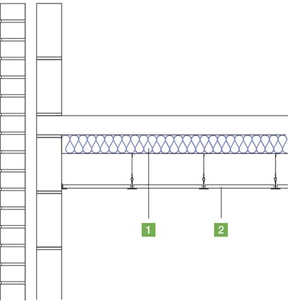 WALLTITE external soffit detail