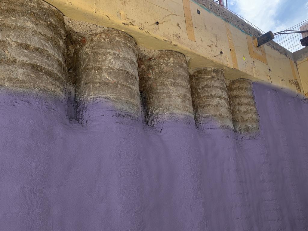 Walltite contiguous pile